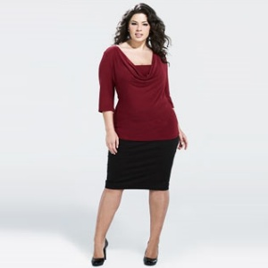 Pencil-Skirts-for-Plus-Sizes